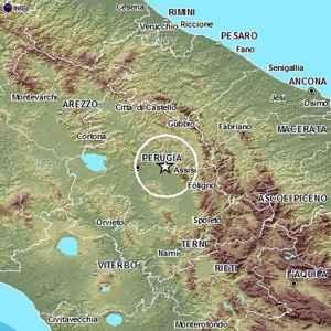 terremoto oggi perugia umbria assisi