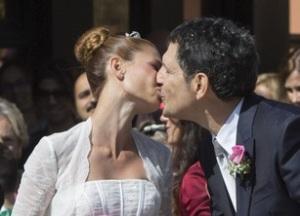 Carlotta Mantovan e Fabrizio frizzi matrimonio e la figlia stella