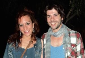 Jordi Coll con la moglie  Marta Tomasa Worner