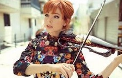 Lindsey Stirling  violinista amercan got talent