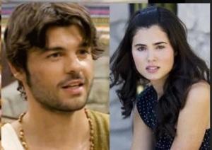 Loreto Mauleon (Maria della telenovela il Segreto) é Jordi Coll (Gonzalo) a c'è posta per te