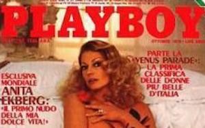 anita ekberg playboy copertina