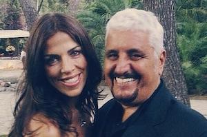 pino daniele e Fabiola Sciabbarasi foto instagram di sara daniele