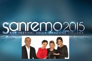 Festival di Sanremo 2015 cantanti in gara ascolti tv diretta Tv e Streaming