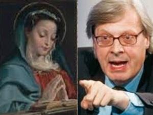 Vergine orante di Annibale Carracci venduta la denuncia di Sgarbi