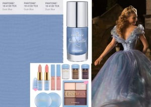 duck blue pantone colore primavera 2015 in cenerentola il film cindarella make up mac ed essence