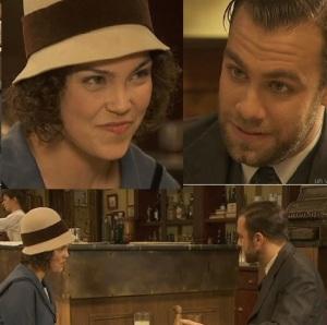 il segreto telenovela jacinta seduce fernando e gli fa il pedino sotto il tavolo alla locanda di emilia