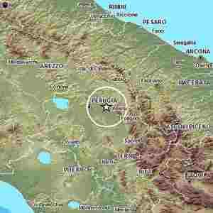 terremoto oggi assisi perugia umbria