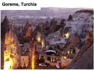 Goreme in turchia