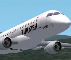 aereo Turkish atterra in Marocco