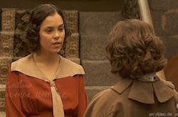 aurora risponde male e manda via candela dalla villa di donna francisca il segreto telenovela video
