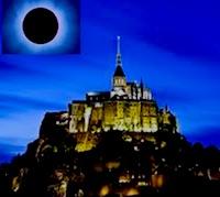 eclissi solare 2015 alta marea del secolo a mont sant michel francia recod