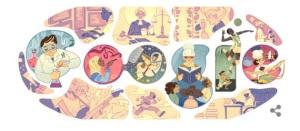 giornata internazionale della donna il doodle con la ustronauta samantha cristoforetti