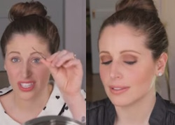 lo chignon di clio make up video tutorial
