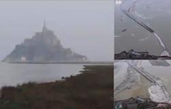 video marea del secolo mont saint michel eclissi solare 2015