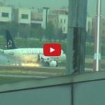 Turkish Airlines Atterraggio Di Emergenza Istanbul