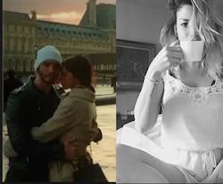 dopo belen e stefano anche emma marrone va a parigi con il nuovo fidanzato