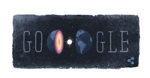 inge lehmann sismologa e discontinuità lehmann celebrate in un doodle il 13 maggio 2015 da google immagine doodle inge lehmann