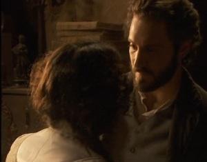 jacinta bacia tristan per salutarlo il segreto telenovela