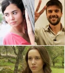 ospiti a verissimo sabato 16 maggio 2015 Maria, Gonzalo ed Aurora de Il Segreto