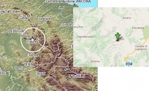 terremoto oggi in tempo reale in ombria a foligno seggio