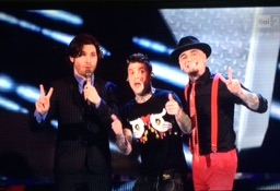 tv selfie the voice jax fedez federico russo