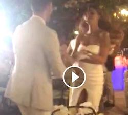 belen e stefano ballano e si baciano in video facebook