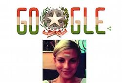 google sbaglia la bandiera sul doodle della festa della repubblica italiana 2015 come emma marrone agli europei per spagna italia