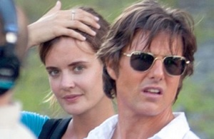 Emily Thomas e Tom Cruise nozze matrimonio quarta moglie assistente eta chi e data nozze