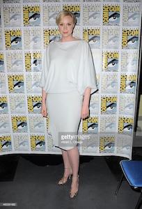 Gwendoline Christie ha indossato l'Infinity dress della Collezione Vivienne Westwood Couture spring:summer 2015