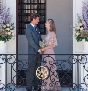 beatrice borromeo abito da sposa valentino matrimonio foto instagram pierre casiraghi