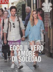soledad de il il segreto alejandra onieva a portofino con il fidanzato nicolas in italia