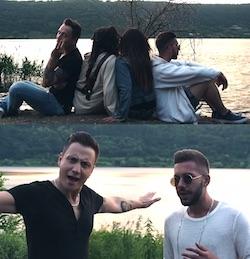 video cesco e Dario Marini massimiliano rodi e serana shalla video nuovo singolo