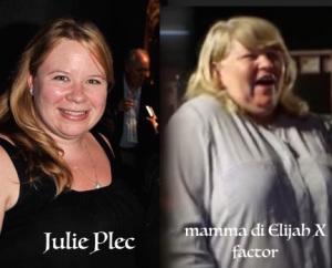 mamma di elijah x factor italia 2015 sosia uguale a julie plec the vampire diaries