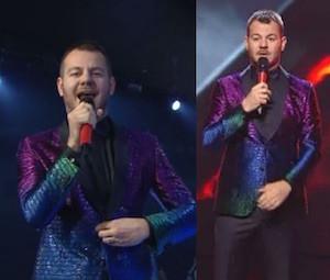alessandro cattelan giacca armani prima puntata live x factor 2015 italia