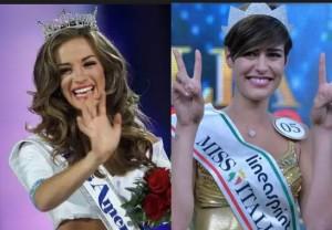 miss italia alice sabatini incontra miss america