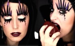 trucco da strega halloween video tutorial clio make up video