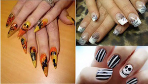 unghie per halloween idee nail art