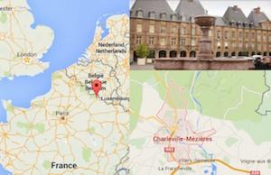 Confine tra Belgio e Francia- blitz a Charleville esplosione