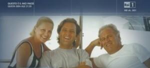 Virna Lisi, il figlio Corrado Pesci ed il marito Franco Pesci