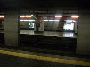 metro roma linea a pacco bomba a lepanto vicino a san pietro metro chiusa da termini a ottaviano