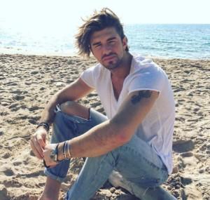 Andrea Damante nuovo tornista di uomini e donne profilo instagram twitter