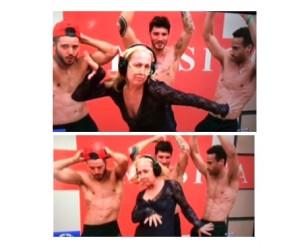 alessandra celentano balla con i ballerini professionisti ad amici 2016
