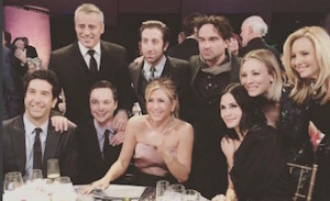 friends e the big bang theory insieme per nbc