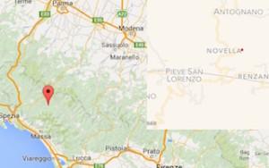 terremoto oggi in garfagnana toscana novella pieve san lorenzo minucciano