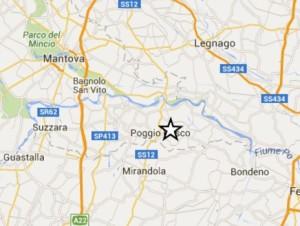 terremoto oggi live in diretta tempo reale mantova mirandola emilia romagna scosse ultime notizie