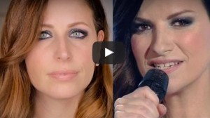 tutorial make up di laura pausini di sanremo 2016 di clio make up