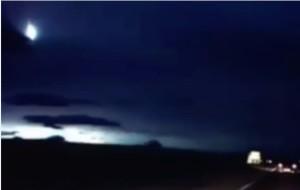 meteorite  o ufo scozia video palla di fuoco nel cielo in scozia cos  e