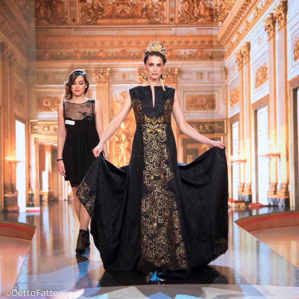 Accademia della moda detto fatto l abito stile rania di for Accademia della moda milano