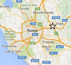 terremoto oggi a roma in tempo reale corcolle tivoli